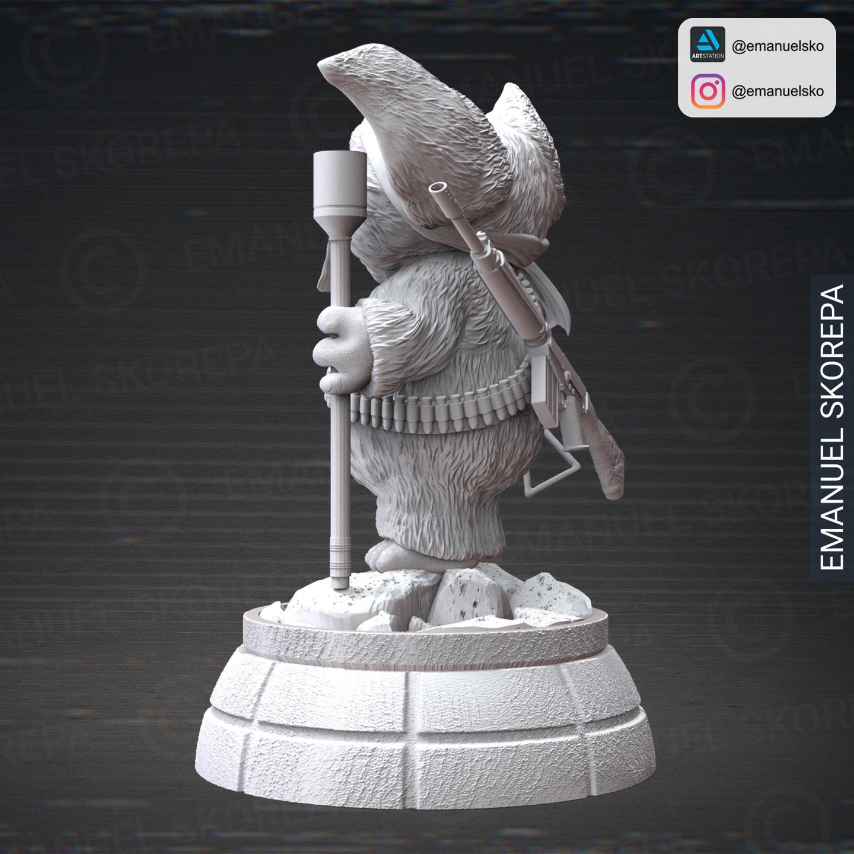 insta5.jpg Download STL file Gizmo Rambo • 3D printing design, emanuelsko