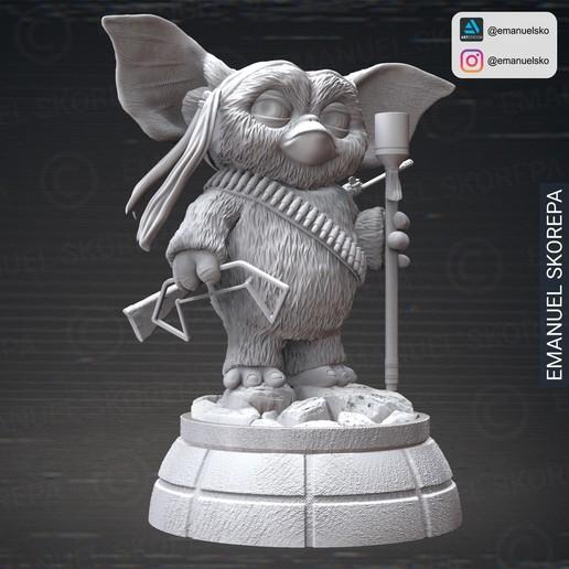 insta2.jpg Download STL file Gizmo Rambo • 3D printing design, emanuelsko