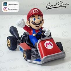 Descargar modelo 3D Mario Kart, emanuelsko