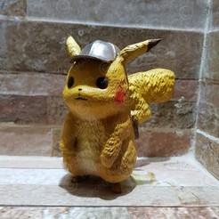 1.jpg Download STL file Detective Pikachu • 3D printer design, emanuelsko