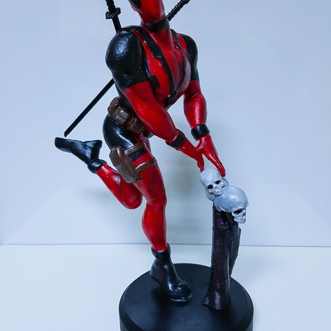 Free DEADPOOL 3D printer file, emanuelsko