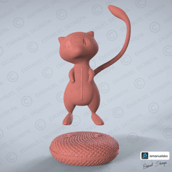 Download 3D printer templates MEW WOOLE, emanuelsko