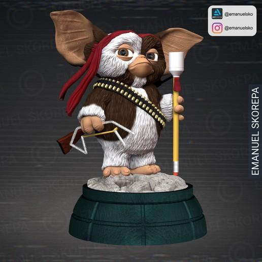 insta1.jpg Download STL file Gizmo Rambo • 3D printing design, emanuelsko