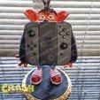 rend_7_large.jpg Download STL file Crash Bandicoot hold Nintendo Switch • 3D print model, emanuelsko