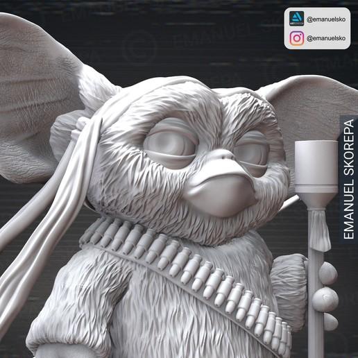 insta4.jpg Download STL file Gizmo Rambo • 3D printing design, emanuelsko