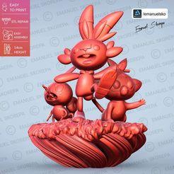 Download 3D printing models Pokemon GALAR statue, emanuelsko