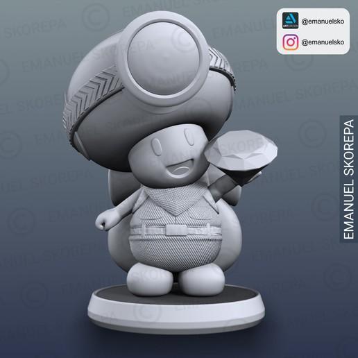 insta3.jpg Télécharger fichier STL Capitaine Crapaud Lampe • Objet pour imprimante 3D, emanuelsko