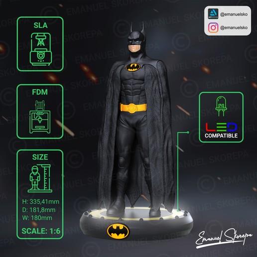instagram2.jpg Download STL file BATMAN MICHAEL KEATON • 3D printable design, emanuelsko