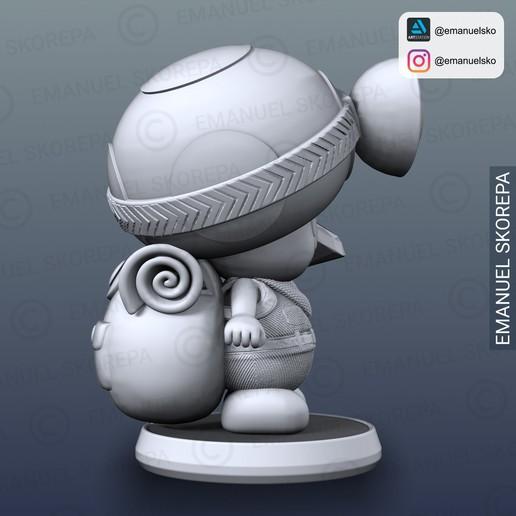 insta4.jpg Télécharger fichier STL Capitaine Crapaud Lampe • Objet pour imprimante 3D, emanuelsko