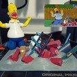 stl Homer Simpsons Grill, emanuelsko