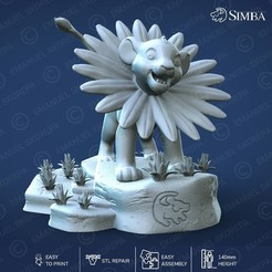 Download 3D printer model Simba, emanuelsko