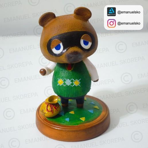Télécharger fichier imprimante 3D Tom Nook Animal Crossing, emanuelsko
