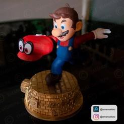 Télécharger fichier impression 3D statue de Mario, emanuelsko
