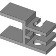 Descargar Modelos 3D para imprimir gratis mesa de soporte de cable o un estante (formato FreeCAD), phroy