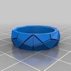Download free STL Lowpoly Pad Ring, phroy