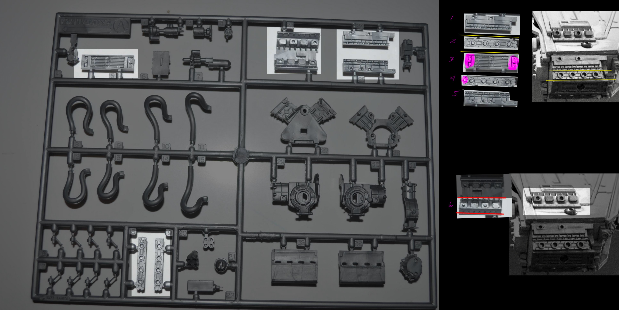 p34MandibleFronts.jpg Download free STL file Deagostini Millennium Falcon Missing parts set • 3D printing template, boryelwoc