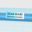 Download free STL files LIGHTSABER STAND, boryelwoc