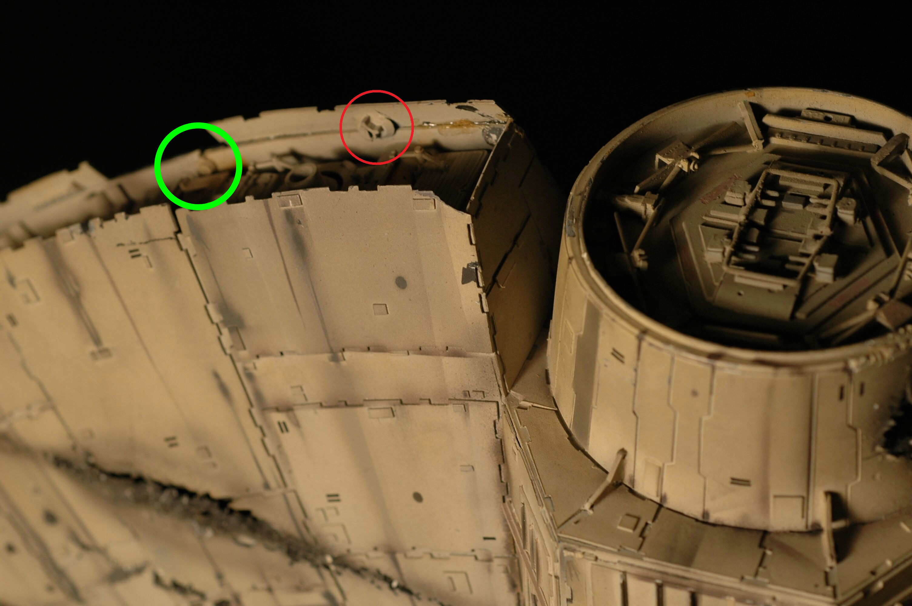 missed_one.jpg Download free STL file Deagostini Millennium Falcon Missing parts set • 3D printing template, boryelwoc