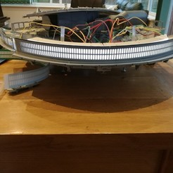 Download free STL files De Agostini Millennium Falcon Engine Vent replacement panel, boryelwoc