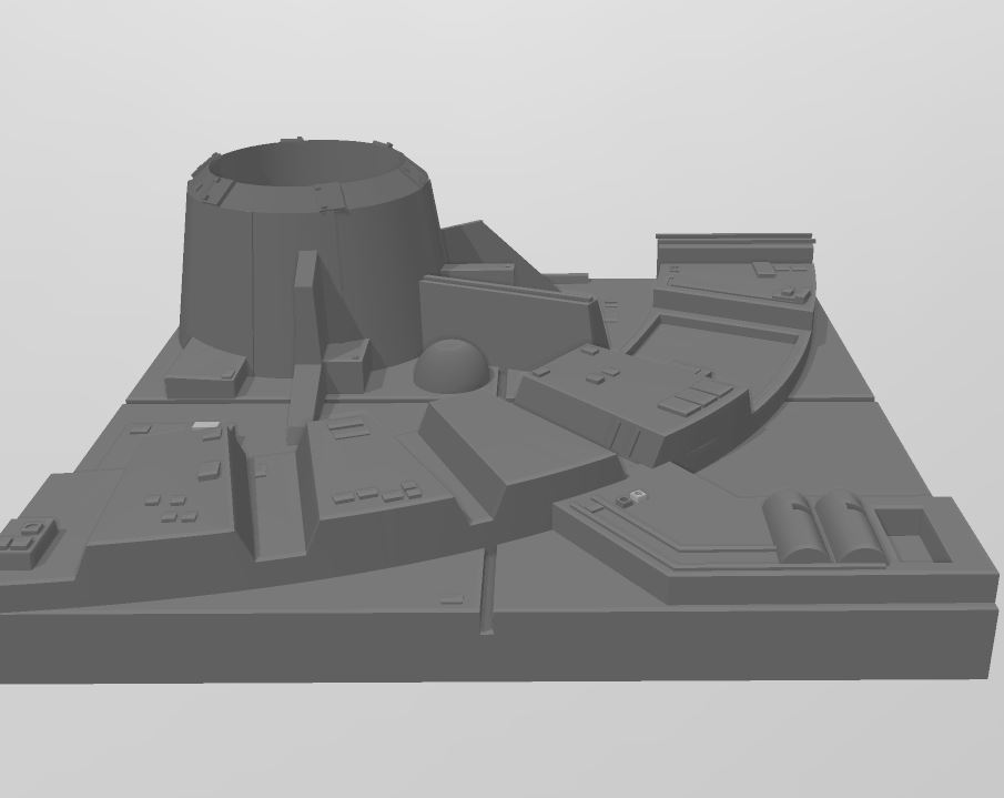 TILE2.JPG Download free STL file Deathstar TILE • 3D printing model, boryelwoc