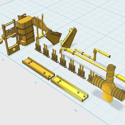 1.JPG Download free STL file Deagostini Millennium Falcon Missing parts set • 3D printing template, boryelwoc