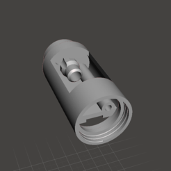 Download free STL file Lightsaber Crystal Reveal chamber • 3D printing template, boryelwoc