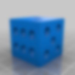 Télécharger plan imprimante 3D gatuit TEST CUBE DICE, boryelwoc