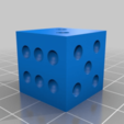 7f09be987bc78f127f38a1aabb4da614.png Download free STL file TEST CUBE DICE • 3D printable design, boryelwoc