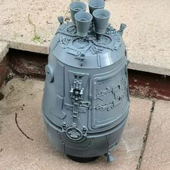 Descargar modelos 3D ESCAPE POD STUDIO SCALE ANH STAR WARS, boryelwoc