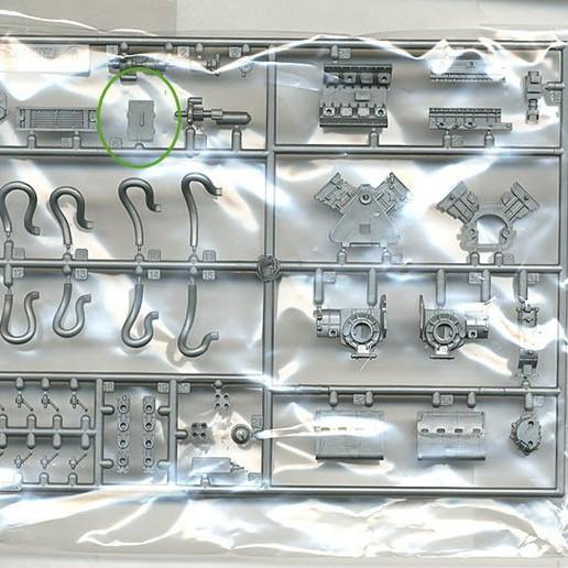 10132079n.jpg Download free STL file Deagostini Millennium Falcon Missing parts set • 3D printing template, boryelwoc