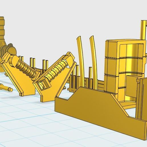 2.JPG Download free STL file Deagostini Millennium Falcon Missing parts set • 3D printing template, boryelwoc