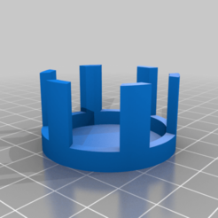 ROTS_GRIP_GUIDE.png Download free STL file Lightsaber Grip spacer for ROTS 7 Chambers AniFlex • 3D printing design, boryelwoc