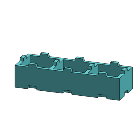 Download free 3D model Tego 3-pin, Thierryc44