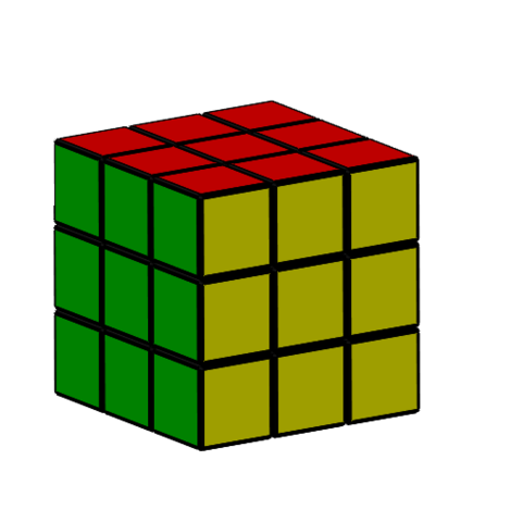 3,3.PNG Download free STL file Rubik cube • 3D printer object, Thierryc44