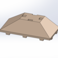 Free 3D print files Tego 3-sided roof, Thierryc44