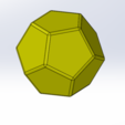 Free STL 12 sided dice, Thierryc44