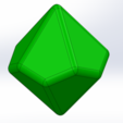 Free 3D printer designs 10 sided dice, Thierryc44