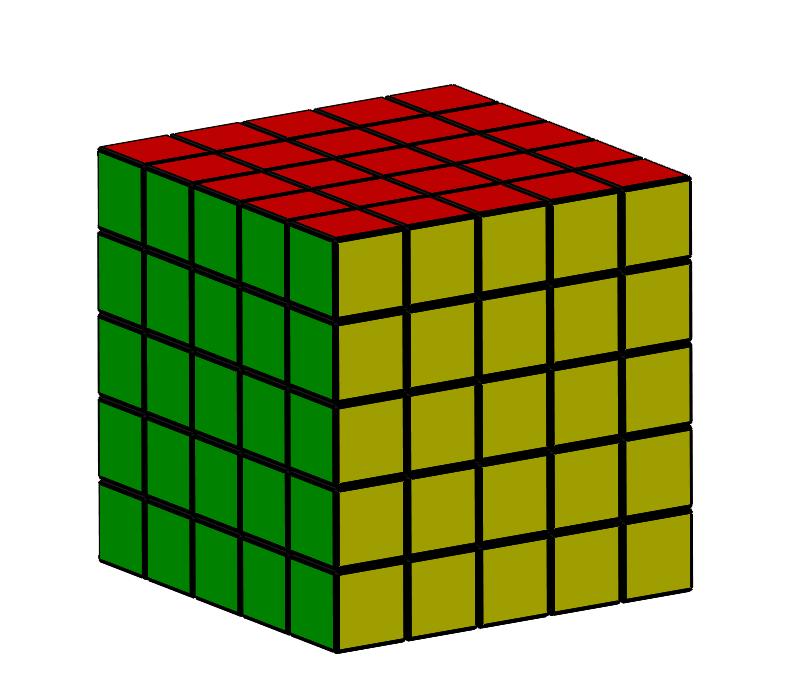 5x5.PNG Download free STL file Rubik cube • 3D printer object, Thierryc44