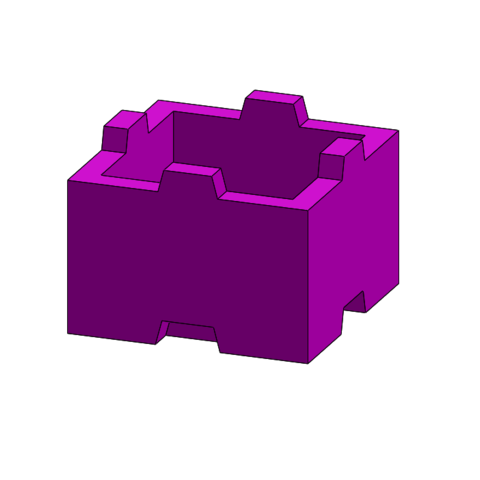 Free 3D printer designs tego 1 plot, Thierryc44