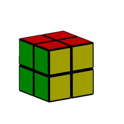 2x2.PNG Download free STL file Rubik cube • 3D printer object, Thierryc44