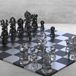 Download free STL King chess game, Thierryc44