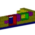 Free 3D printer designs Tego window, Thierryc44