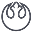 Download free STL file wins starwars coin, Thierryc44