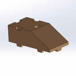 Free STL files Tego 1-panel roof, Thierryc44