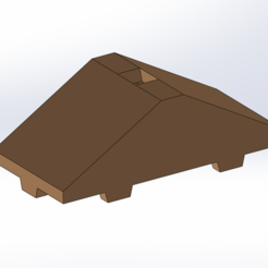 Download free 3D printer model Tego roof 2 panels, Thierryc44