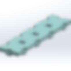 Free 3D printer model Tego plate 4x1, Thierryc44