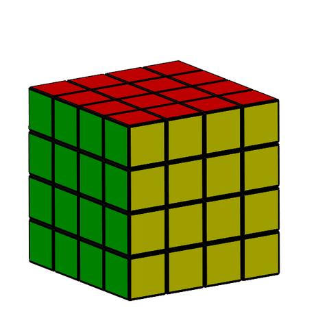 4x4.PNG Download free STL file Rubik cube • 3D printer object, Thierryc44