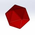 Imprimir en 3D gratis 20 caras, Thierryc44
