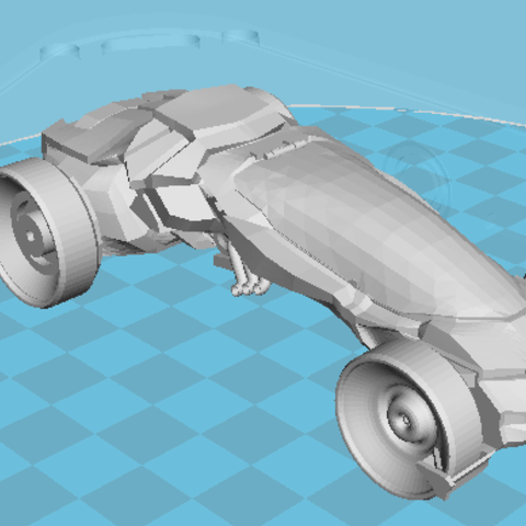 Capture13.PNG Download free STL file car of the future • 3D printing design, manchot