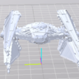Free STL files starship wars, manchot